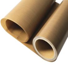 Manufacturer supply best selling natural color ptfe fiberglass cloth