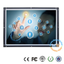 Open frame 19 inch touch screen LCD monitor with wide screen 16:10 resolution 1440X900
