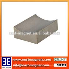 Die Form des Invert Sinterd Neodym Magnet / benutzerdefinierte Block konkav geformt starken ndfeb Magnet