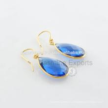 Красивая позолоченная золото Безель станции ювелирные изделия для женщин оптом