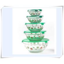 Caixas de armazenamento de alimentos Glass Ice Bowl