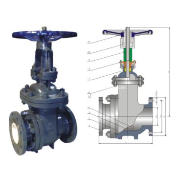 Manual Ceramic Scum valve
