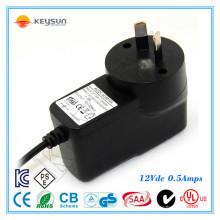 Wechselstromadapter 12 Volt 0,5 Ampere Stromversorgung