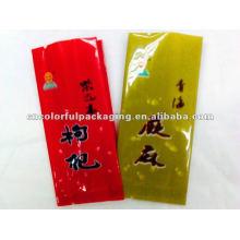 Petit sac d'emballage alimentaire jetable imprimé gousset