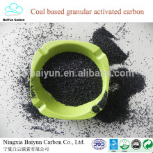fórmula química de carbón activado para la purificación de agua viva 500 densidad de carbón activado granular