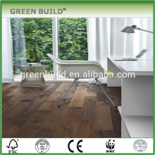 Apartment project Walnut engineered wooden flooring