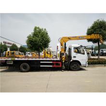 6 Tonnen Dongfeng Abschleppwagen mit Kran
