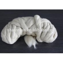 La laine de moutons de la couleur chinoise de nuance de 19.5mic Med a ouvert le prix de dessus de tops, tops ouvert fournisseur