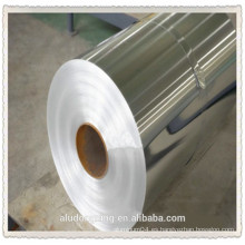 Hoja de aluminio de 6.5 micras para alimentos