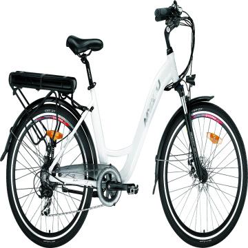 Europe Warehouse Bicicleta eléctrica urbana para adultos de 26 pulgadas