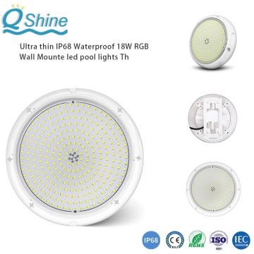 Ультратонкие, 100% водонепроницаемые светодиодные фонари для бассейнов