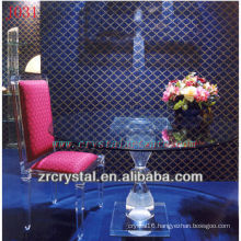 K9 Crystal Table and Chair for Home Decoration