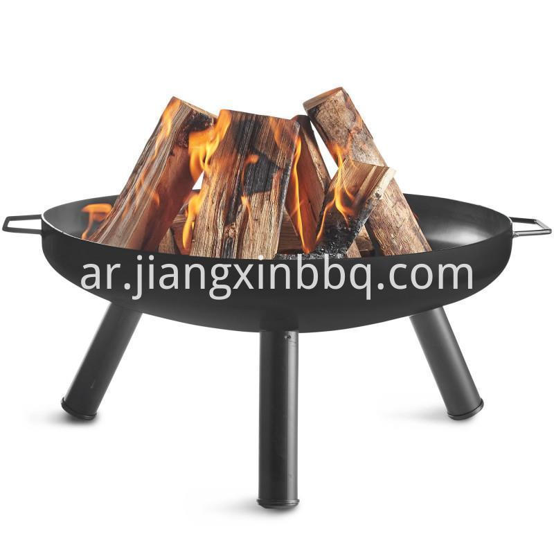 Fire Pit Bowl Outdoor Patio Wood Fireplace Backyard