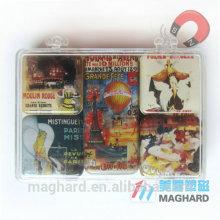 2015 Hot Selling fashion epoxy fridge magnet/ Epoxy Coated Printing Fridge Magnet/Eco friendly Fridge Resin Epoxy Magnet