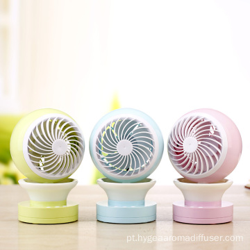 Travel Camping Air Conditioner Eyelash Mini Fan Lâminas
