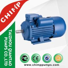 Serie YL CA monofásico 1.1kw motor dos valores condensadores motor eléctrico para compresor de aire