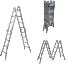 multi-purpose aluminum folding ladder manufacturing factory escada 4*4