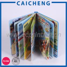 Livre de couleur enfants couverture rigide avec emballage de boîte-cadeau
