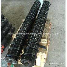 ASTM / Cema / DIN / Sha-Standardspiralrollen- / Stahlschrauben-Umlenkrolle / Rückholrolle