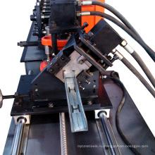 На высокой скорости C/у небольшой шпильки стальной каркас, используемый крен стержня формируя машину
