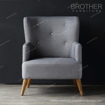 Wohnmöbel Wohnzimmer Einzelsitz Akzent Stühle mit Armen
