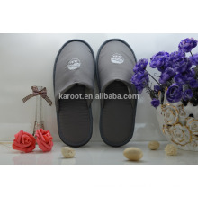 cheap washable soft personalized close toe polyester hotel slipper