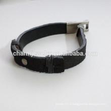 Bracelet en cuir de mode Bracelet de mode simple Bracelet de type épissure PSL027