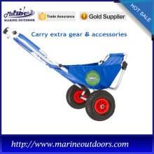 Aluminum cart, 420D Nylon Oxford Cloth trolley, Outdoor beach chair