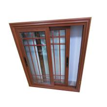 6mm single tinted glass sliding cheap wholesale price of aluminium profile new iron grill window door design