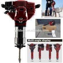 52cc 1700w 20-55J Handheld Concrete Hammer Breaker Portable Gasoline Jack Hammer