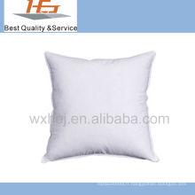 utilisation de l'hôtel oreiller de coussin de tissu de coton blanc rempli de microfibre