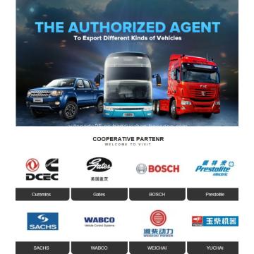 Accesorios para autobuses Sunlong Bonluck Sunwin Foton