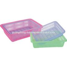 Heißer Verkauf Küche Kunststoff Sieb / Rechteck Kunststoff Sieb