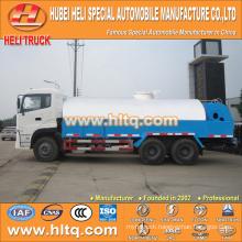 DONGFENG 6x4 16000L high pressure sewer flushing vehicle 210hp cummins engine