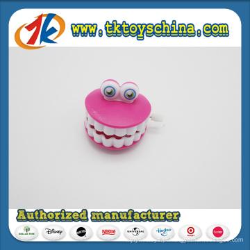 PS plástico acaba brinquedo de dentes para crianças