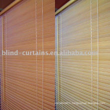 Wood slat blind design 2015