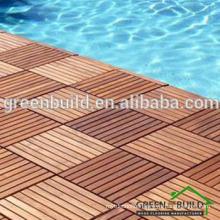 Outdoor Solid Teak Swimming Pool Wood Flooring