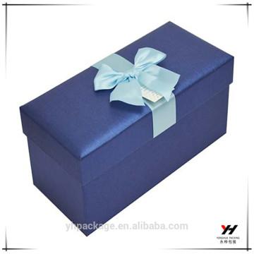 Boîte de carton en gros de cadeau de conception personnalisée