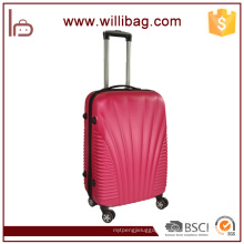 Unique Design Travel Trolley Luggage Bags Fancy ABS Suitcase