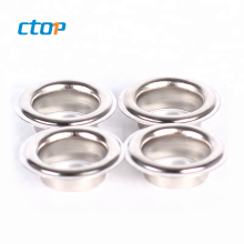 Wholesale High Quality Hardware Accessories Custom Eyelets Curtain Metal Eyelet For Shoes
