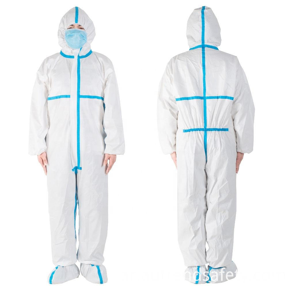 Disposable Coverall Clothing Protective