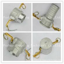 """1/2 """"bis 6"""" Aluminium weibliche cam lock kupplung"""