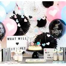 Gender Reveal cannon balloon Baby Shower