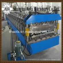 Máquina perfiladora de paneles de techo con precorte (AF-820)