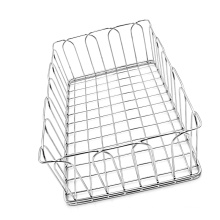stainless steel wire mesh storage baskets