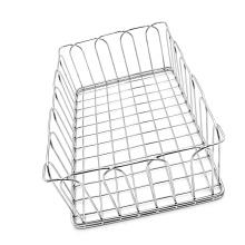 cestas de armazenamento de tela de arame de aço inoxidável