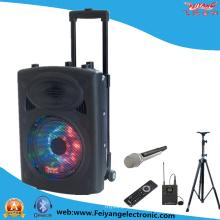 10 pulgadas de luz multicolor inalámbrico Bluetooth batería de la carretilla altavoz F607D