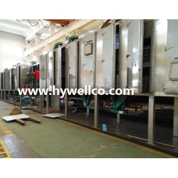 Mesin Pengering Mesh-belt Hywell Supply