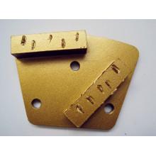Шлифовальная панель Splite PCD с 2 сегментами прямоугольника