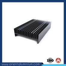 Dissipador de calor de extrusão de alumínio de baixo preço